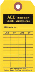AED Maintenance Inspection