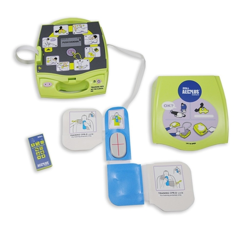 Zoll AED Plus W/ Real CPR Help 8000-40000-1- American AED