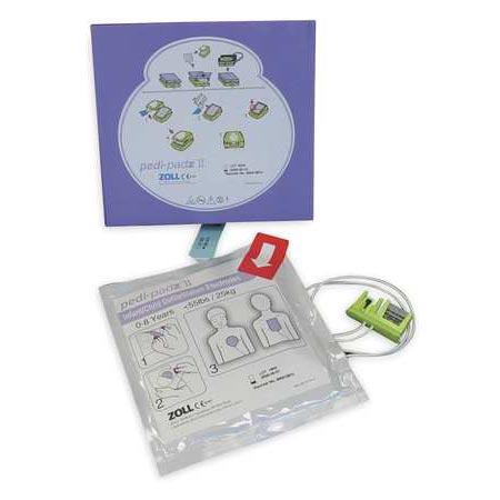 ZOLL AED Plus , Pediatric Pads II - 8900-0810-01