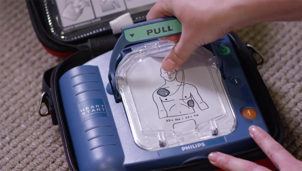 Philips HeartStart OnSite AED Machine