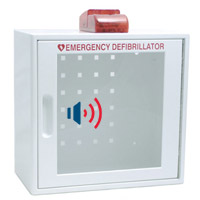 AED Package - Wall AED Cabinet with Alarm & Strobe Light (Optional)