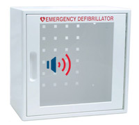 AED Package - Wall AED Cabinet with Alarm & Alert Light
