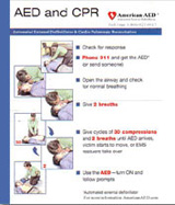 AED / CPR Quick Reference Card