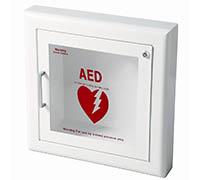 Semi-Recessed Wall AED Defibrillator Cabinet