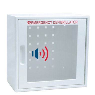 AED Wall Cabinet with Audible Alarm & Alert Light