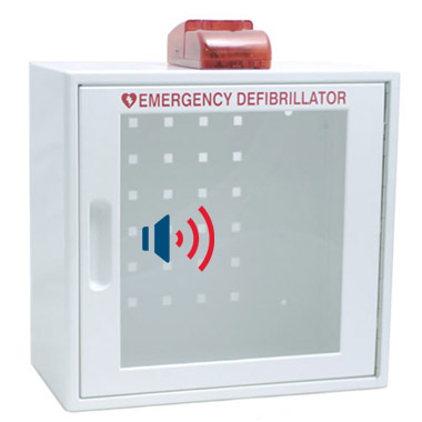 Wall AED Cabinet With Alarm & Strobe Light