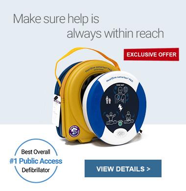 #1 Public Access Defibrillator - Samaritan PAD 350P / 360P