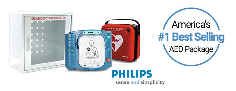 Best Selling AED Defibrillator - Philips HeartStart OnSite