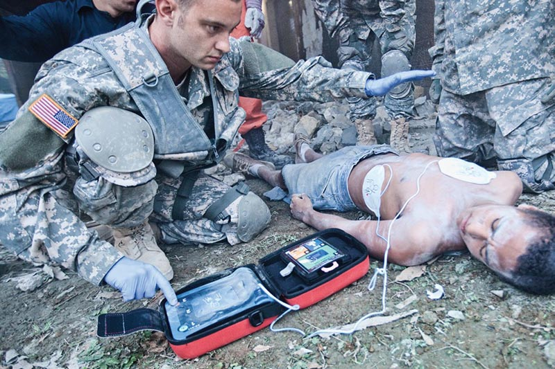 Heartstart FRx Used By Military