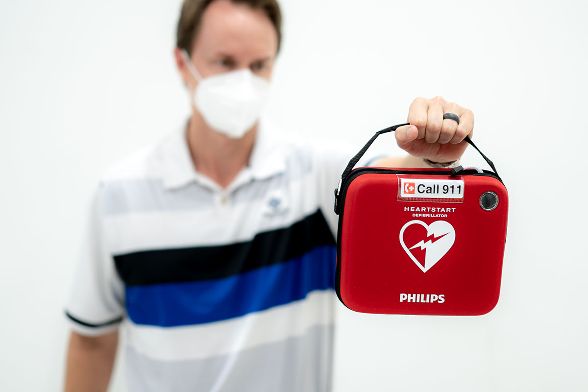 Philips OnSite AED In Free Carrying Case