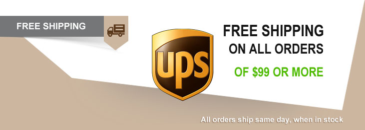 Receive Free Shipping On AED Units & Orders of $99 Or More