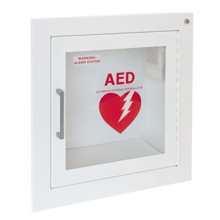Fully-Recessed Wall AED Cabinet
