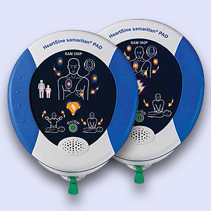 Heartsine Samaritan PAD 350P or 360P Defibrillator