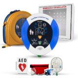 Heartsine Samaritan PAD 350P Complete AED Defibrillator Package