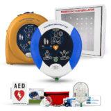 Heartsine Samaritan PAD 450P Complete AED Defibrillator Package