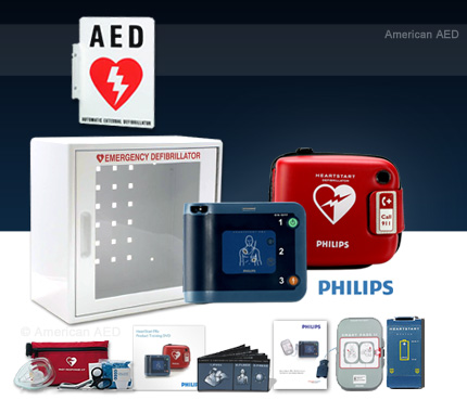 Philips HeartStart FRx , Complete AED Package