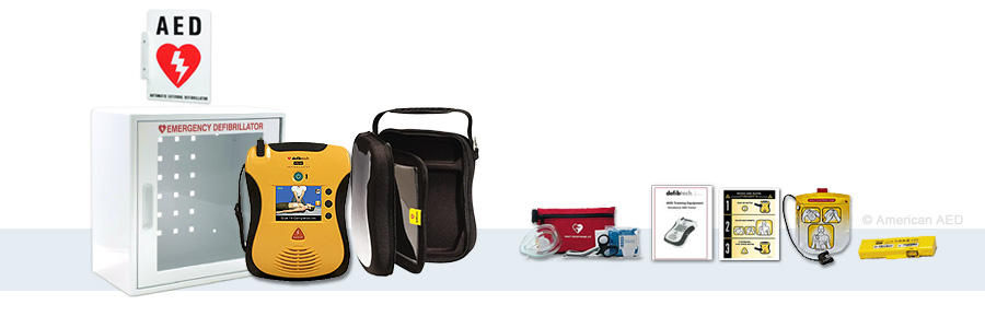 Defibtech Lifeline View - Complete AED Package