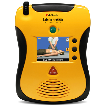 Defibtech Lifeline View AED Accessories