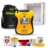 Defibtech Lifeline View Complete AED Defibrillator Package
