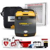 Physio-Control LIFEPAK CR Plus Complete AED Defibrillator Package