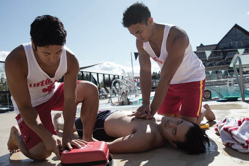 Philips HeartStart FRx AED Used By Lifeguards