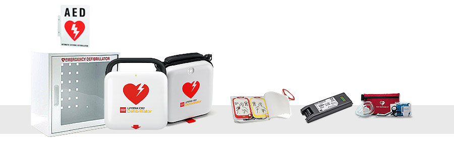Physio Control LIFEPAK CR 2 - Complete AED Package