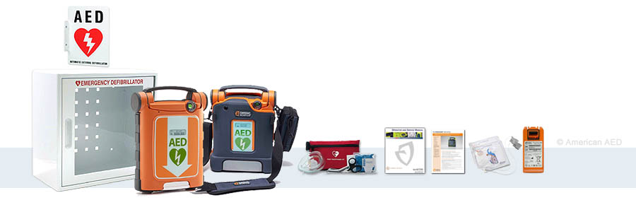 Powerheart G5 AED Defibrillator With ICPR Pads