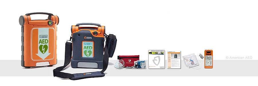 Cardiac Science Powerheart AED G5 -  G5A-80A-P-AMER