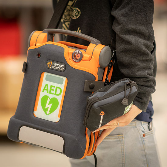 Cardiac Science Powerheart G5 with Carrying Case