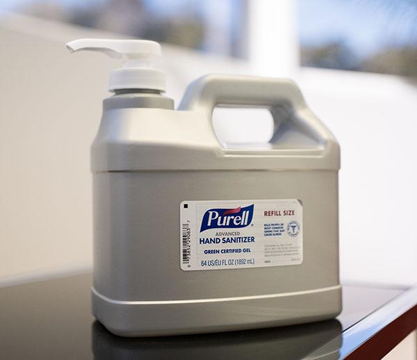 Purell 64oz Refill Bottle