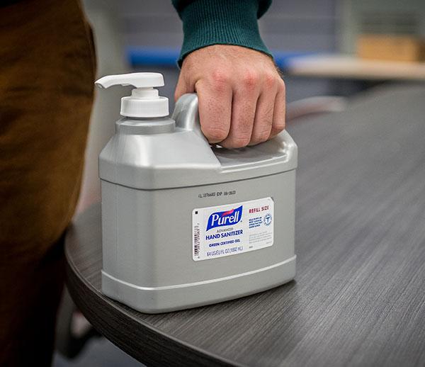 Purell Sanitizer - Refill Bottle For Sale
