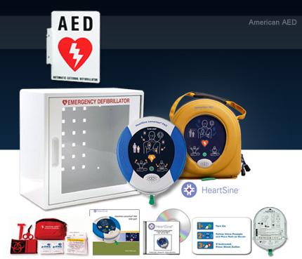 AED For Hospitality Industry - Heartsine Samaritan PAD 350P