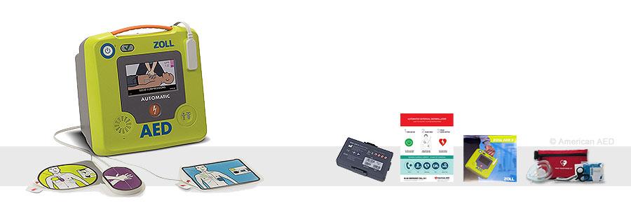 Zoll AED 3 Defibrillator - 8513-001101-01