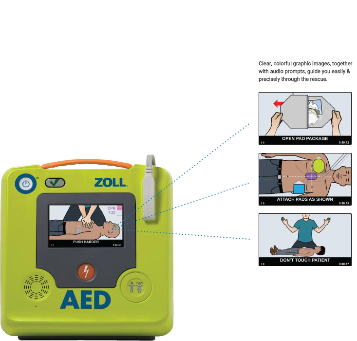 AED Voice Guided Instructions