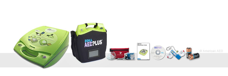 ZOLL AED Plus - 8000-40000-1