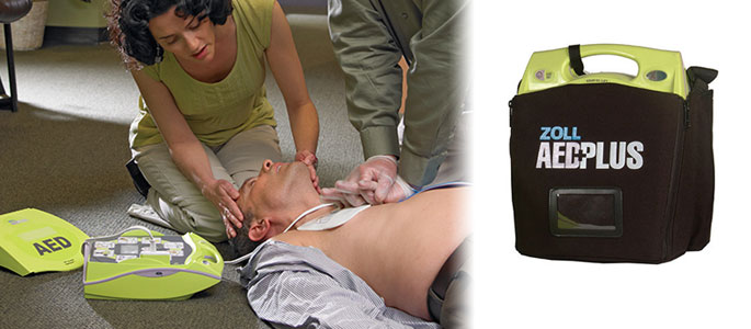 New Zoll AED Plus Interacts With Rescuers